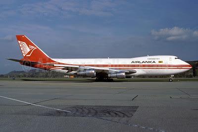 AirLanka Boeing 747-238B 4R-ULF (msn 20009) ZRH (Rolf Wallner). Image: 913343.