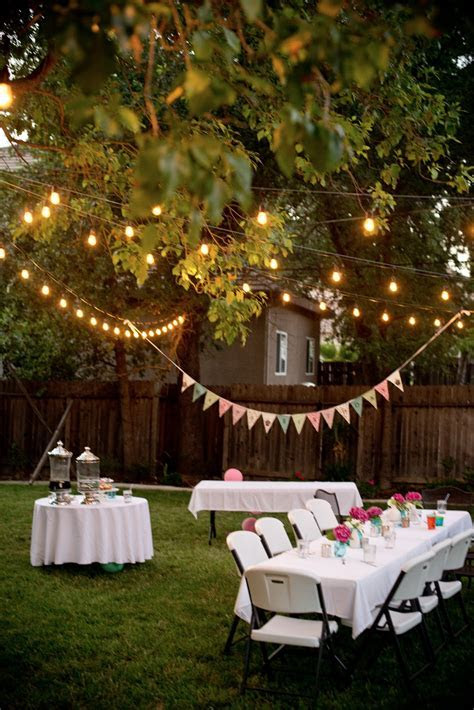 Domestic Fashionista: Backyard Birthday Fun  Pink