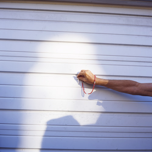 Virgin Mary Appears on Garage Door, Minersville II