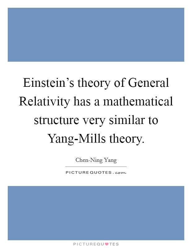 Theory Of Relativity Quotes Sayings Theory Of Relativity Picture