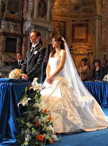 Sposi chiesa di San Pietro in Montorio al GIanicolo