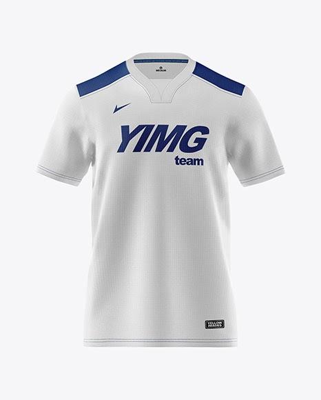 Download Mens Soccer Y-Neck Jersey Mockup (PSD) Download 87.47 MB ...