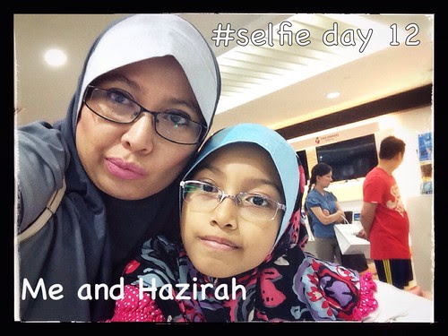 Day 12: me and hazirah