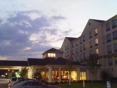 Sunset at the Hilton Garden Inn/Columbus University Area