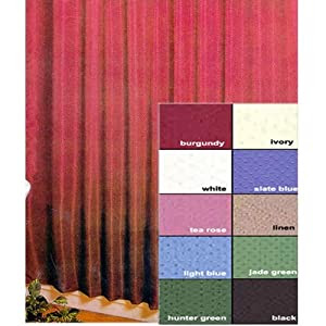 Amazon.com: Lauren Dobby Fabric Shower Curtain Color: Jade: Home ...