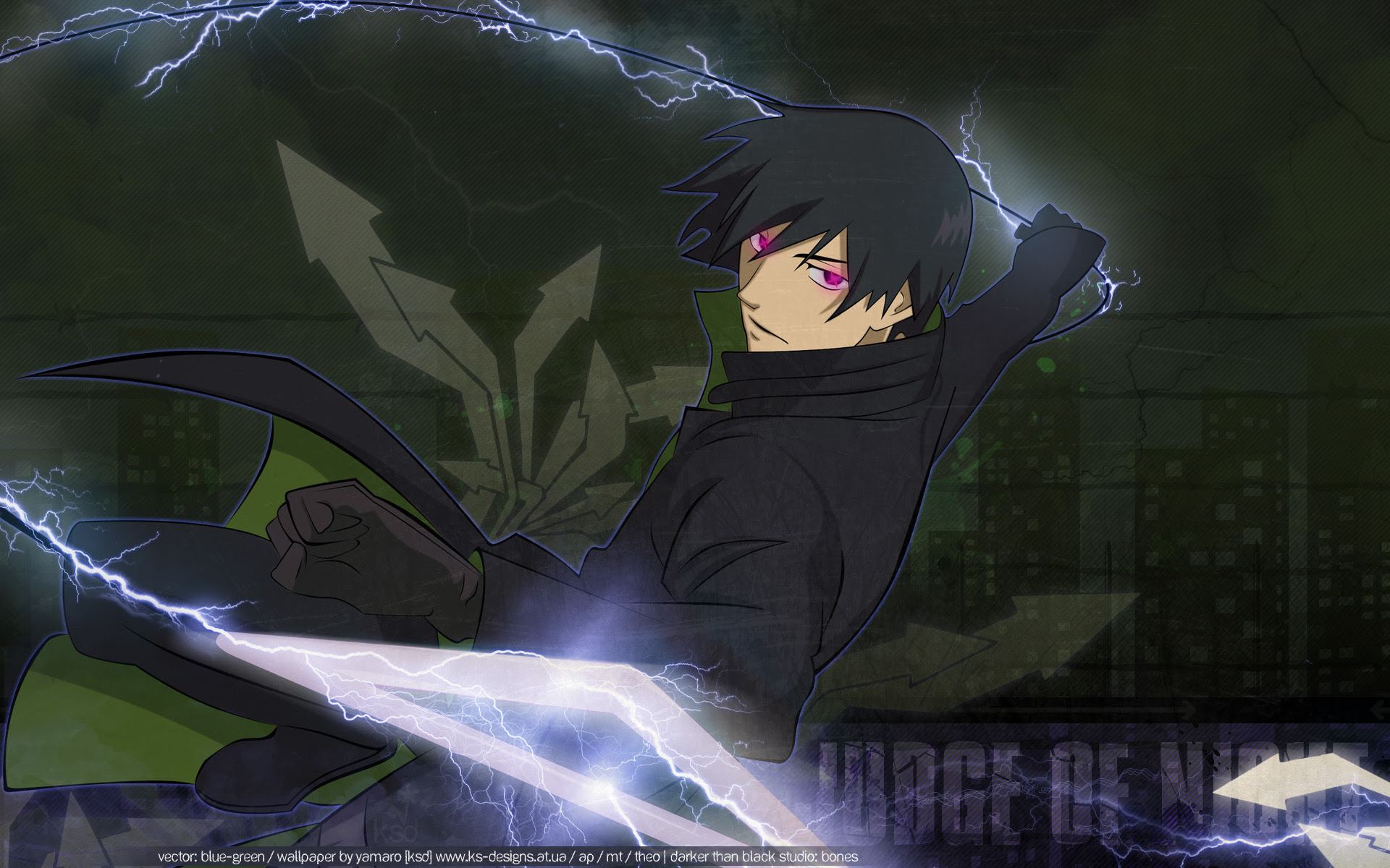 Darker Than Black Wallpaper Judge Of Night Minitokyo