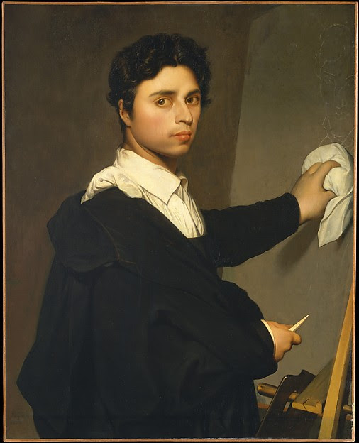 Ingres (1780–1867) as a Young Man