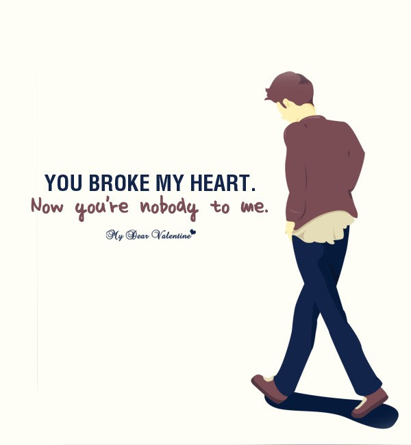 You Broke My Heart Quote Quote Number 684720 Picture Quotes