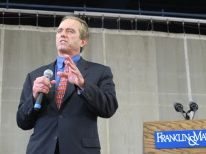 Robert F. Kennedy Jr. is one of the nation's biggest opponents of coal as an energy source. He believes natural gas is just as bad.