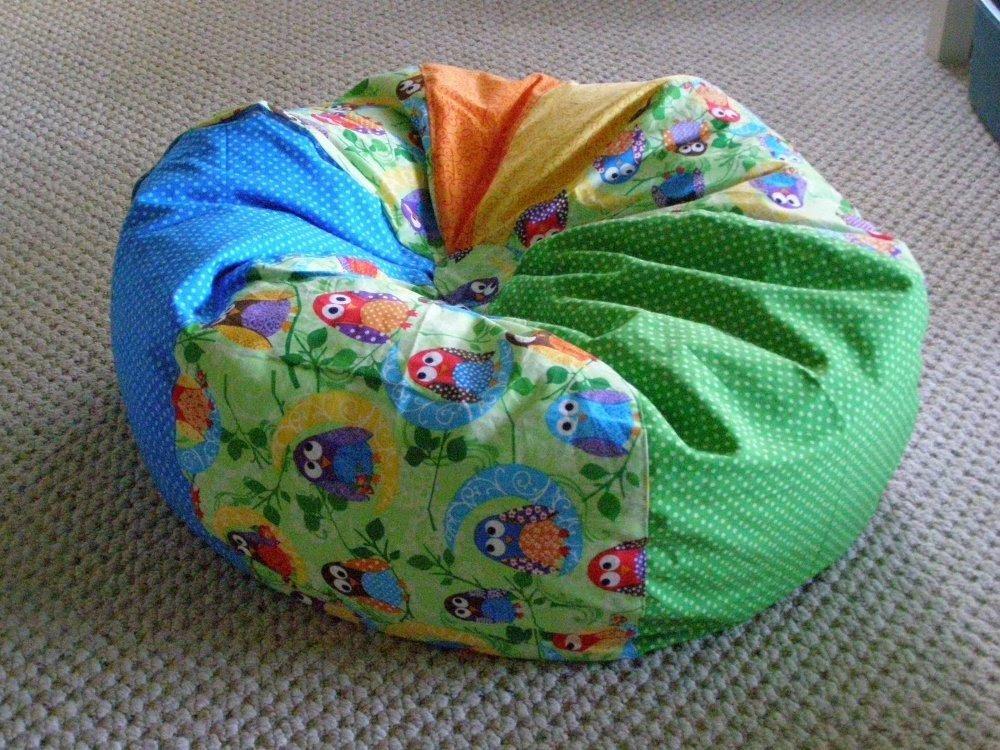 Homemade Bean Bag Chair - Home Furniture Design