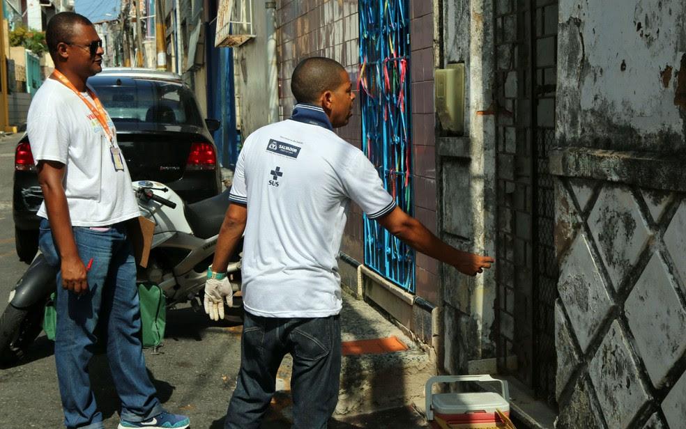 Centro de Controle de Zoonoses de Salvador pretende vistoriar 16 mil imóveis de Salvador (Foto: Bruno Concha/Secom)