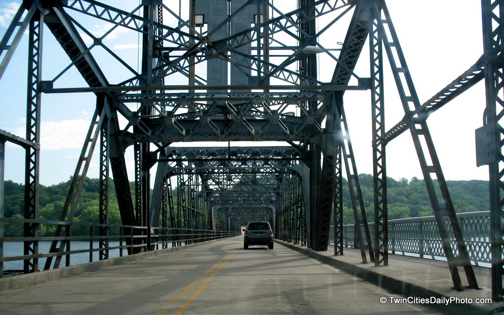 The lift bridge in Stillwater, crossing the St Croix River, is in major need of replacement. It's quite the icon of a bridge, but it's days are coming to an end.