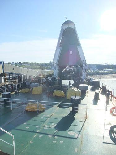 Saint John ferry nose retracts