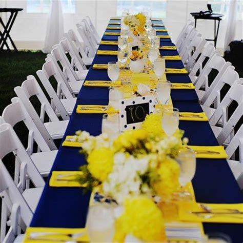 96 best images about Navy Blue   Yellow Wedding on