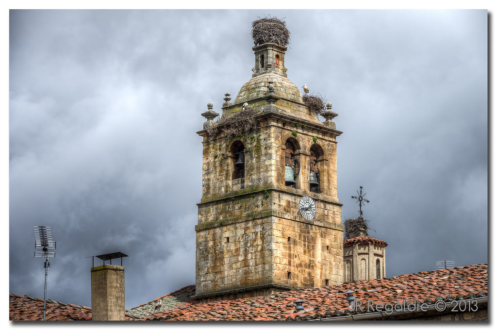 Los nidos en la torre - #RetoHDR by JR Regaldie Photo