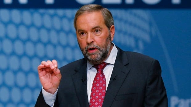 The NDP's new campaign strategy includes a shift from comparisons of policy and instead highlights the issue of leadership. Who would make the best prime minister?