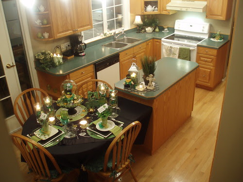 kitchen islands with tables attached dining delight embracing the green. Interior Design Ideas. Home Design Ideas