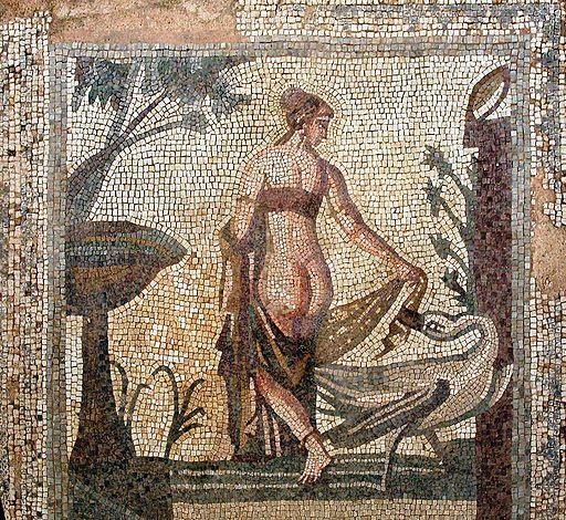 Leda mosaic
