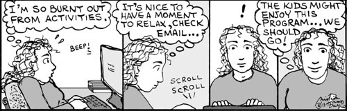 Home Spun comic strip #685