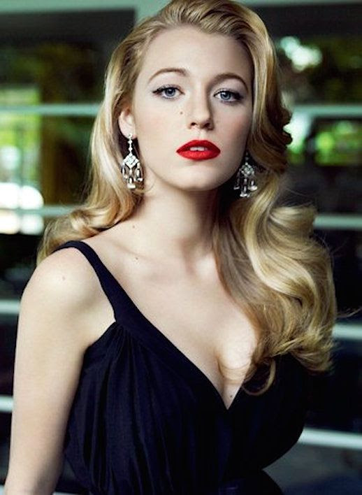 Le Fashion Blog Blake Lively 13 Best Red Lipsticks To Buy Via Vogue