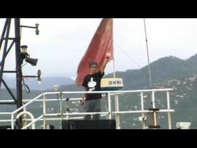 HK activists set sail for disputed islands