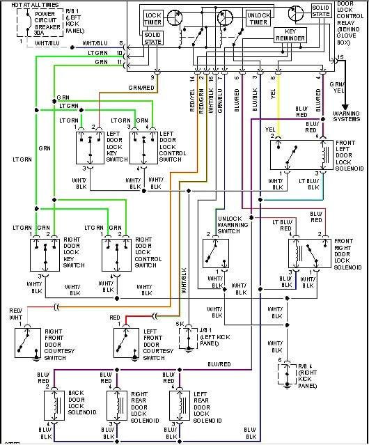 1990 Toyota Camry Diagram