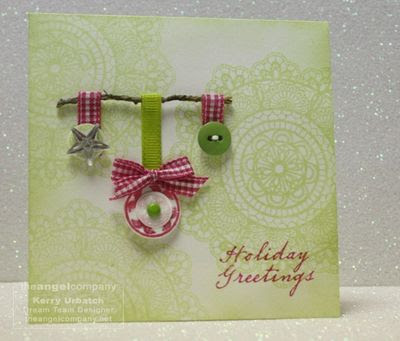 Christmas In July-Beautiful Lace-Circles of Love-Trendy Greetings