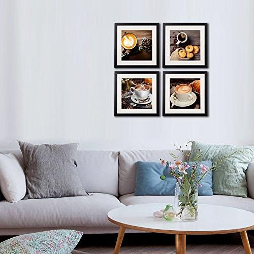 Home Kitchen Coffee Framed Wall Art Decor Posters And