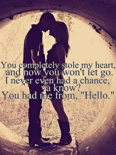 Girl You Stole My Heart Quotes