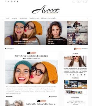Avocet Blogger Templates