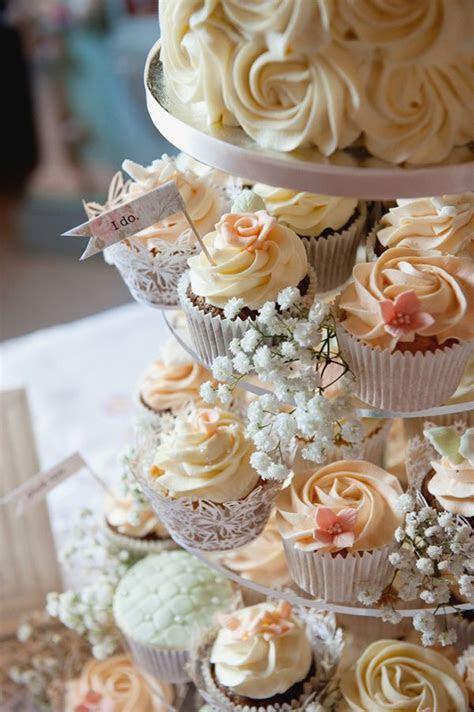 Cupcake Wedding Cakes   Mon Cheri Bridals