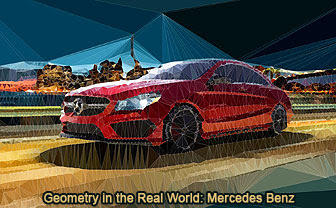 Geometry in the Real World: Mercedes-Benz