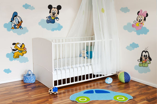 decorando quarto de bebê