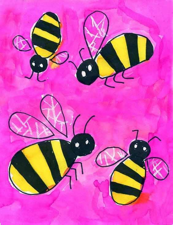 Arı Ve Arı Kovanı Sanat Etkinliği 64 Okul öncesi Etkinlik