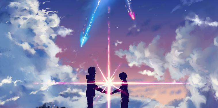 Wallpaper Anime Kimi No Na Wa Hd