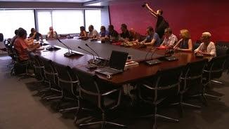 El comitè d'empresa firma l'acord de la mediació de Treball