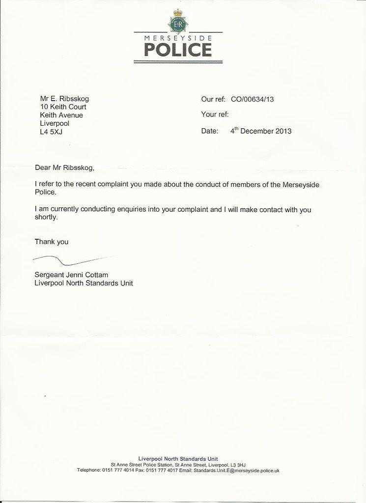 merseyside politiet brev 1