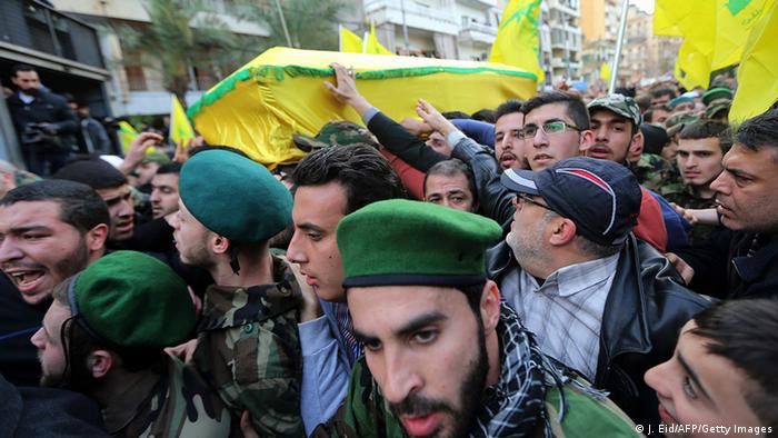 Libanon Syrien Israel Hisbollah Trauerfeier in Beirut (J. Eid/AFP/Getty Images)