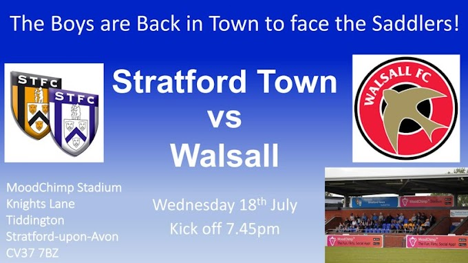 Matchday: Walsall Under-18s in Action Later This Evening
