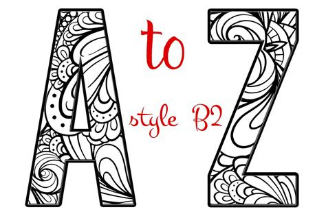 coloring letters   alphabet  graphic objects
