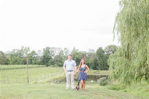 Colin & Kelsey   Engaged {Sunset Hills Vineyard in