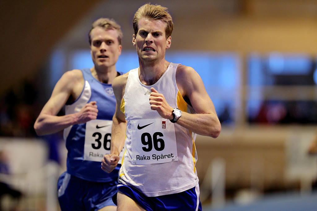 Picture from the 3000 m race. Photo: Peter Holgersson