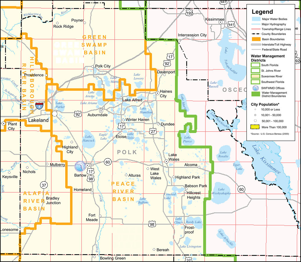 Southwest Florida Water Management District Polk County