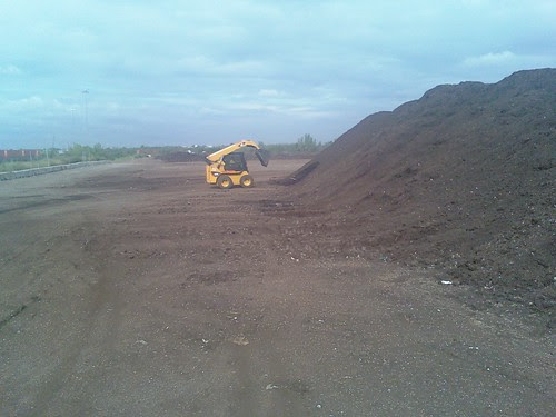 Compost Pickup, Fresh Kills Composting Site, Staten Island