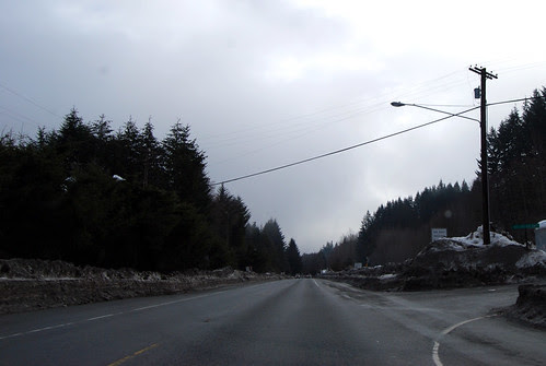 US 2 east of Skykomish