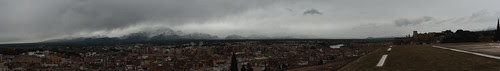 Panoràmica - Tortosa: neu al Port