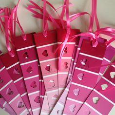 hearts bookmarks