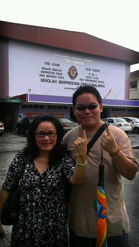 5th of May, 2013. 13th Malaysian General Elections. Mom and I cast our votes