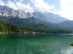 Zugspitze vom Eibsee