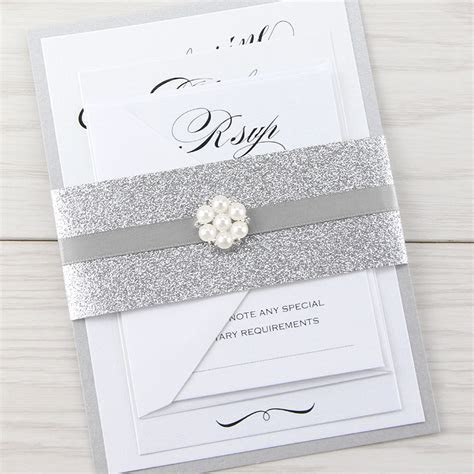 Oscar Parcel Wedding Invitation   Pure Invitation Wedding